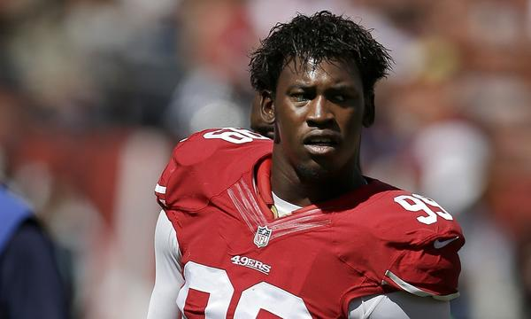 San Francisco 49ers linebacker Aldon Smith apologized Sunday for his recent off-field problems.