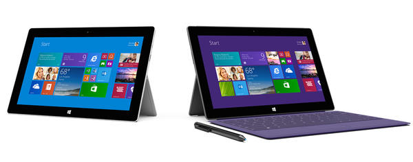 Microsoft announced the Surface 2, the second generation of its Surface tablets.