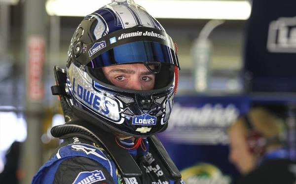 Don't look now, Chase for the Cup leaders, but Jimmie Johnson is lurking nearby.