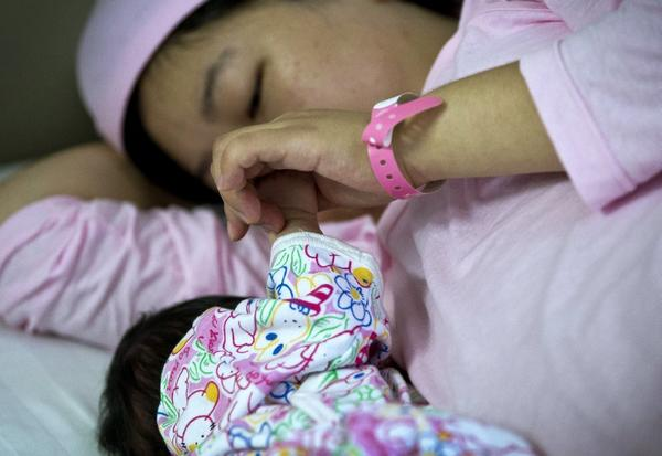 A new study links bed-sharing with longer periods of breast-feeding, but its authors caution that the practice, also known as co-sleeping, poses safety concerns.