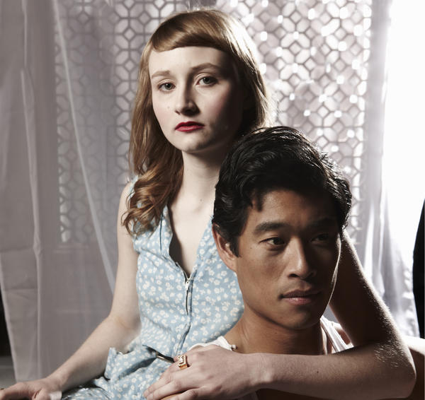 Rae Gray and Tim Chiou in 'The North China Lover' at Lookingglass Theatre through Nov. 10