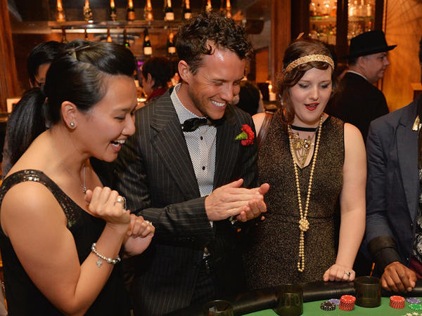 Luck Be A Lady casino night at Untitled in River North