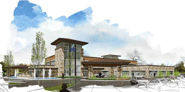 The Hinsdale Adventist Cancer Institute is expected to open in 2015.