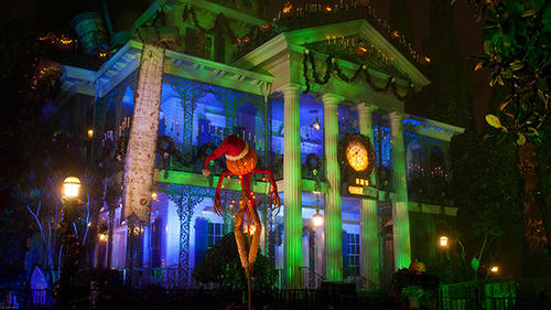After 13 years, Haunted Mansion Holiday has become the cornerstone of Mickey's Halloween Party at Disneyland, with hour-plus lines throughout the season.