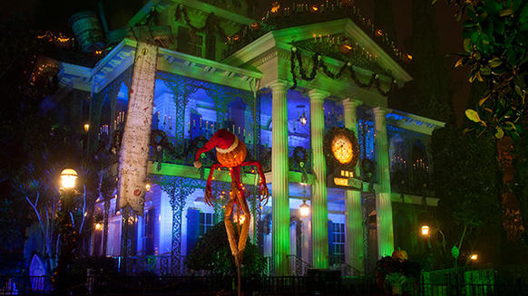 After 13 years, Haunted Mansion Holiday has become the cornerstone of Mickey's Halloween Party at Disneyland, with hour-plus lines throug