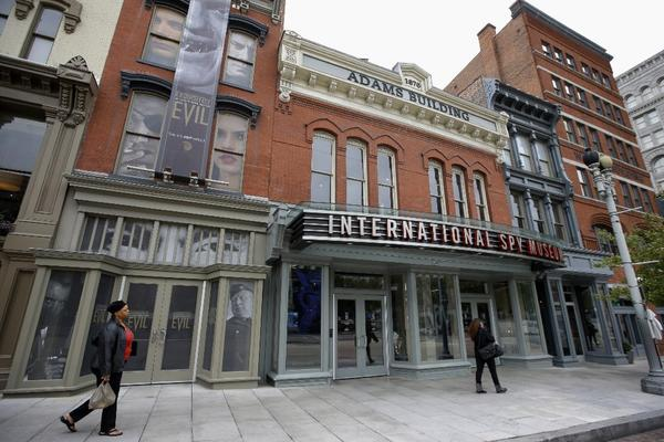The International Spy Museum in Washington, D.C., wants a bigger space for temporary and rotating exhibitions.