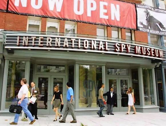 The International Spy Museum opens in Washington