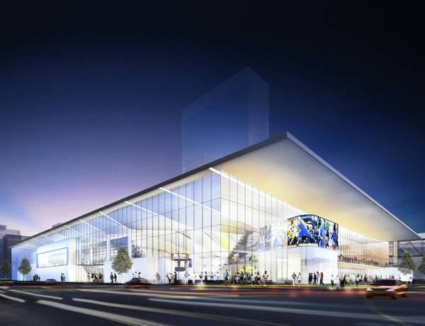 Depaul 39 s new basketball arena is coming for Design hotels arena