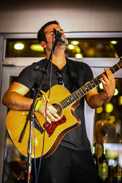 Robbie Gold performs June 23 at The Captain Morgan Club at Wrigley Field.