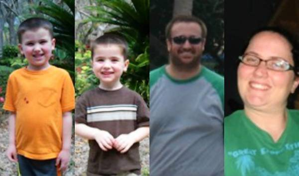 From left, Cole Hakken and Chase Hakken were abducted from a Tampa home by their parents, Joshua and Sharyn Hakken.