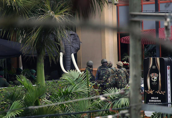 Westgate Mall attack - Kenyan security forces
