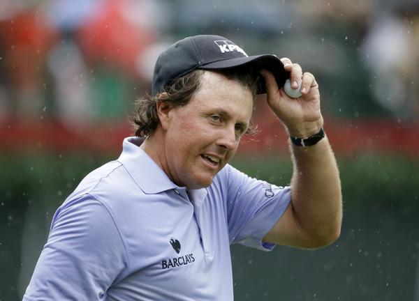 Phil Mickelson's credentials for player of the year include winning the British Open and seven top-10 finishes.