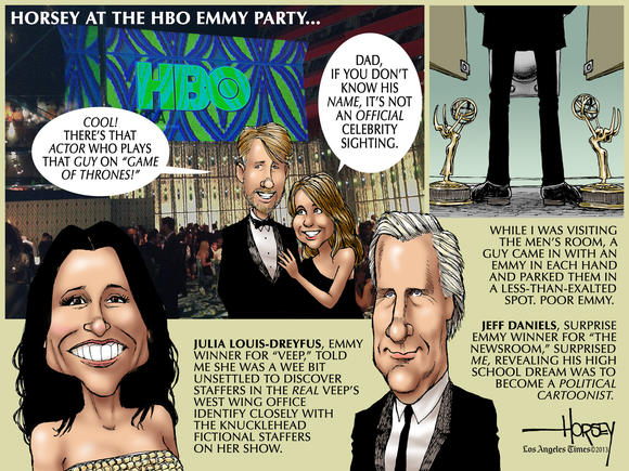 Horsey on Hollywood: HBO's big Emmy party