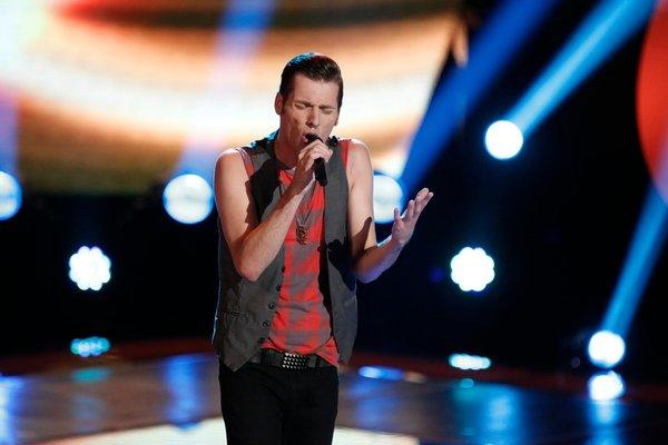 "Nic Hawk on NBC's ""The Voice."""