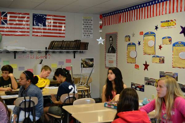 Modular Classrooms Inside ~ Proposal would remove portable classrooms at glen ellyn