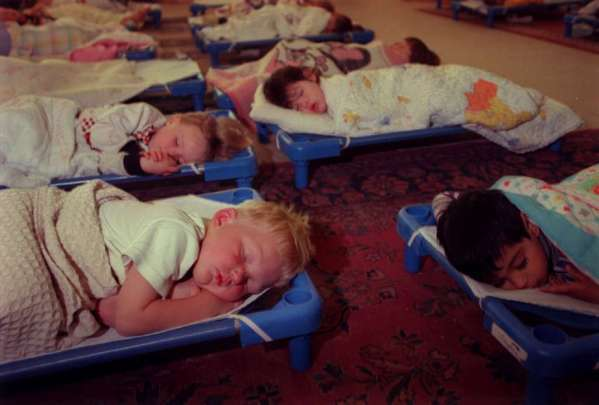 A study says naps help young memories.