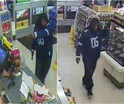 Boynton Beach police are asking for help to identify a man suspected of robbing a 7-Eleven at gunpoint.
