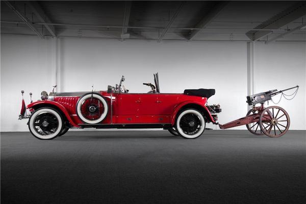 This 1925 Rolls-Royce Phantom I Maharaja is headed to auction at Barrett-Jackson's Las Vegas auction, Sept. 26-28. Craig Jackson, the company's chairman and CEO, estimates that the car could sell for between $500,000 and $1 million.