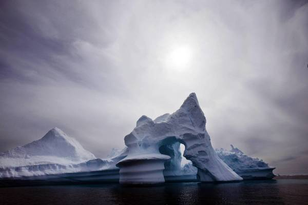 A U.N.-created climate change panel hopes to brief world leaders this week in a unified voice, but behind the scenes, members are expected to disagree on some aspects. Above, an iceberg melts off Ammassalik Island in Greenland.