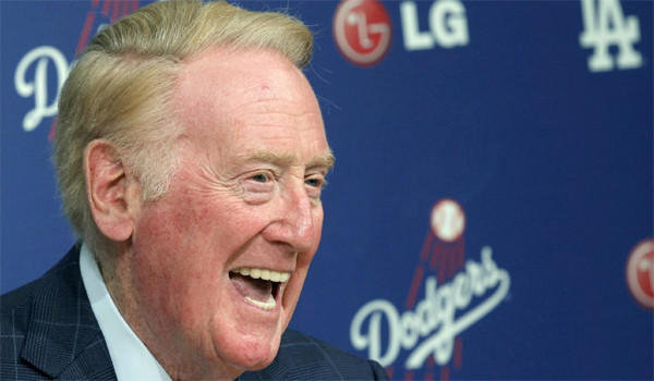 Vin Scully has been calling the Dodgers for 64 seasons, but with the playoffs coming up and L.A. poised to make a run at the World Series, the legendary broadcaster might not be the one making the call for Fox.