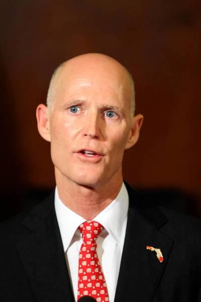 Florida Gov. Rick Scott.