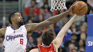 Clippers center DeAndre Jordan learns by the seat of his pants
