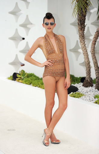 <b>Photos:</b> Mercedes-Benz Fashion Week Swim - Norma Kamali Swimwear