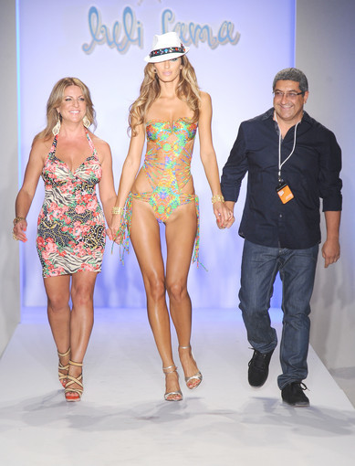 <b>Photos:</b> Mercedes-Benz Fashion Week Swim - Luli Fama: Designers Lourdes Hanimian and Augusto Hanimian