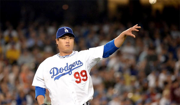 South Korean pitcher Hyun-Jin Ryu has proven to be a valuable part of the Dodgers' rotation since joining the organization in the offseason.