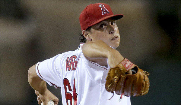 Jason Vargas held the American League West champion Oakland Athletics scoreless in a complete game shutout Tuesday in which he gave up four hits and struck out five batters with one walk.