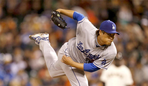 Dodgers left-hander Hyun-Jin Ryu gave up one run on four hits and one walk as L.A. snagged a 2-1 victory over the San Francisco Giants on the road Tuesday.