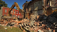 Forgotten one-block street cleared of homes in East Baltimore