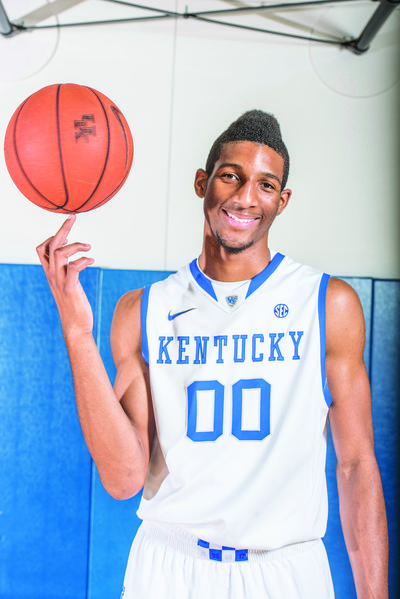 Marcus Lee is one of the freshmen that Sporting News columnist Mike DeCourcy thinks will give Kentucky coach John Calipari a chance to have another national championship contender this year, even though DeCourcy thinks the path to a t