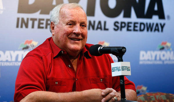 IndyCar legend and team owner A.J. Foyt, shown at Daytona International Speedway in January, appeared Tuesday in Fontana before next month's IndyCar race there.