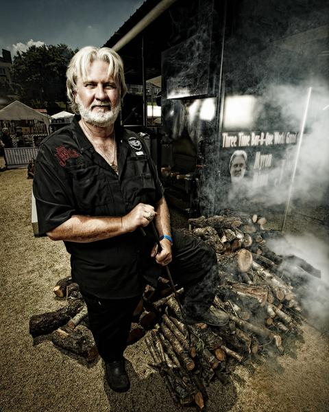 Myron Mixon will compete in The Best BBQ Chef Competition at New London Waterfront Park on Sunday.