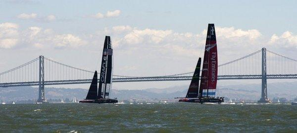 Too much wind in San Francisco could force a delay of the decisive America's Cup race.