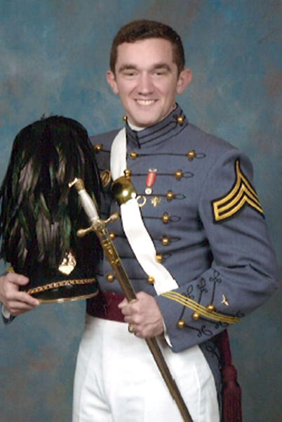 Cadet Christian King Beckler graduated from the U.S. Military Academy at West Point in May.