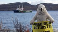 Vladimir Putin defends Russia's seizure of Greenpeace ship