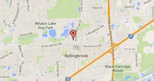 A man died after an accident near Bolingbrook Drive and Boughton Road in Bolingbrook.