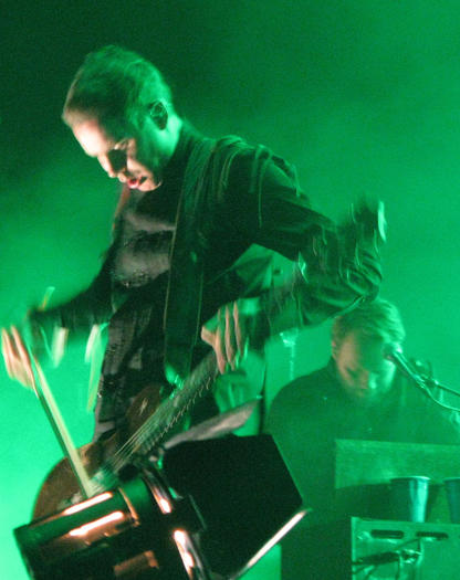 Sigur Ros on stage at Ted Constant Center, Norfo
