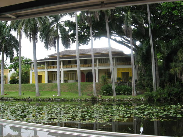 Exterior of the Bonnet House Museum & Gardens in Fort Lauderdale