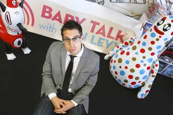 "Comedian Dan Levy performs a show called ""Baby Talk"" once a month using hand-picked children who give advice on parenting."