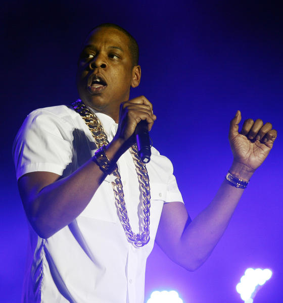 Jay Z, seen performing at the Wireless Festival in London over the summer, has teamed with Barneys on its holiday collection.