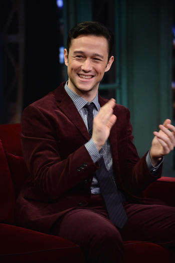 "Joseph Gordon-Levitt visits ""Late Night With Jimmy Fallon"" at Rockefeller Center on September 24, 2013 in New York"