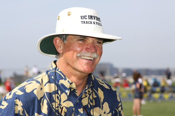 UC Irvine's Vince O'Boyle has been named Big West Conference Coach of the Year 20 times in cross country and track & field.