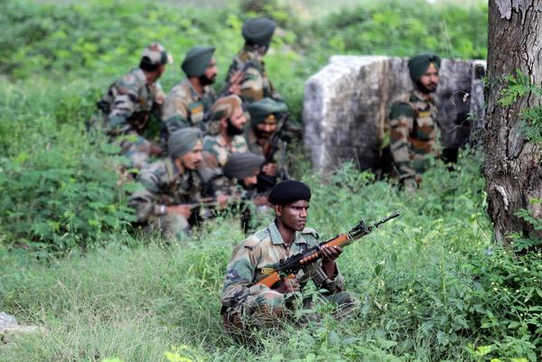Militant attack in Kashmir