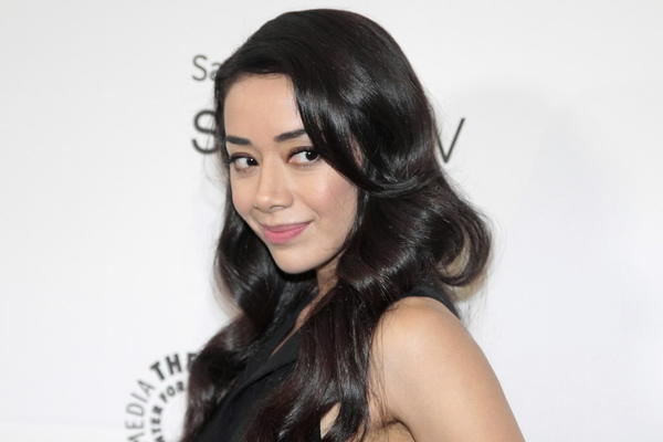 Actress Aimee Garcia arrives at the 2013 PaleyFest Previews at the Paley Center for Media in Beverly Hills, Calif., Sept. 12, 2013