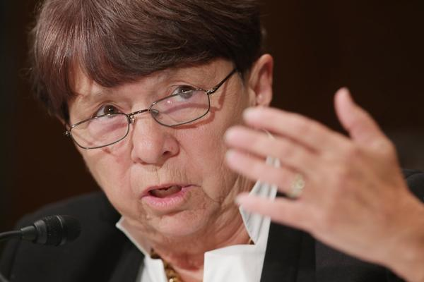 Mary Jo White has been chairwoman of the Securities and Exchange Commission since April.