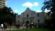 Battle of the Alamo coincided with Carroll's independence efforts [Eagle Archives]