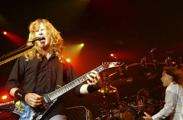 Dave Mustaine (pictured) and Megadeth will perform Dec. 9 at House of Blues in Lake Buena Vista.